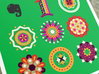 10M Users on India - Illustration illustration india 10m evernote