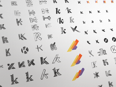 Playing With K sketch logo iteration exploration all turtles