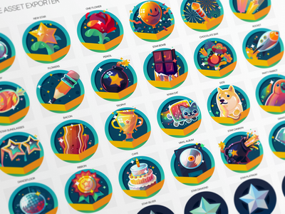 Disco Badges set vector art illustration badge design disco all turtles