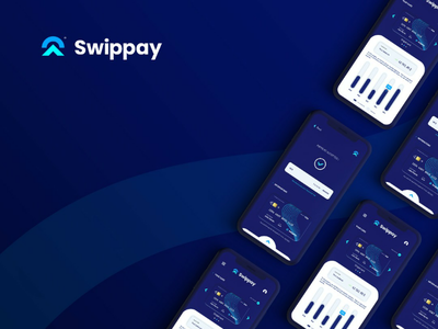 Swippay UI Design | A young bank app visual identity packagingdesign packaging package mockup logotype logo inspiration logo design logo brand logo inspiration illustrator graphic design design branding brand identity brand adobe