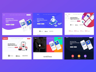 Appsza - Multipurpose App Landing Page HTML Template