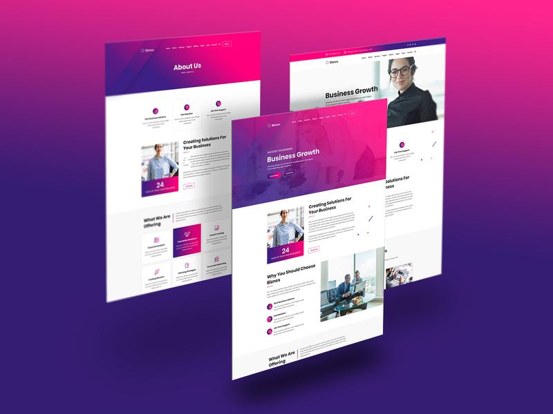 Bixzen - Business Website HTML Template