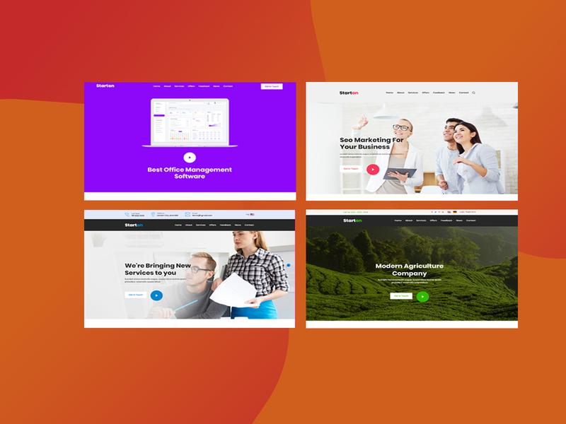 Creaton - Startup PSD Template