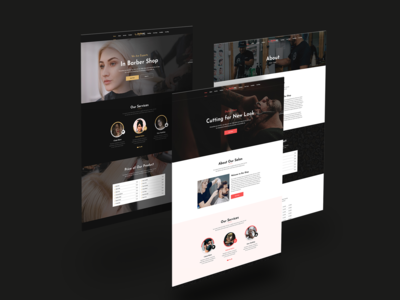 Barbaraz - Barbar Shop HTML Template
