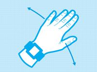 Hand Swipe