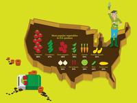 American Vegetable Garden