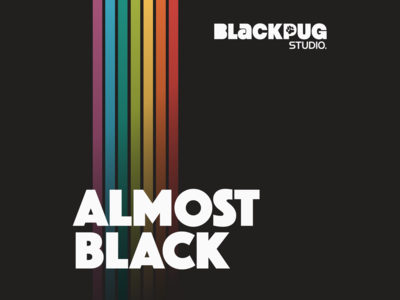 Black Pug Studio | Almost Black Podcast Cover