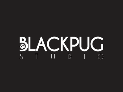 Black Pug Studio - Logo Design creative agency logo design branding design branding logo