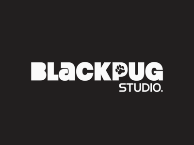 Black Pug Studio - Logo Design (Alt.)
