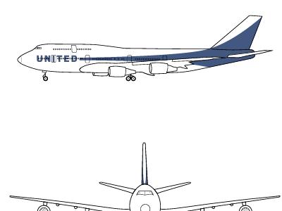 United Plane Livery