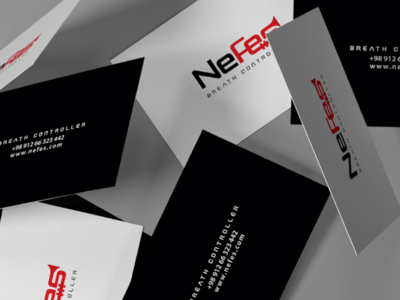 Nefes Breath Controller logo branding corporate identity