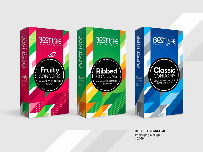 Best Life Condoms creative design creative pattern condor condoms fruity classic delay graphic design graphicdesign graphic packaging design package design packaging