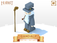 Character in Middle-earth-Gandalf