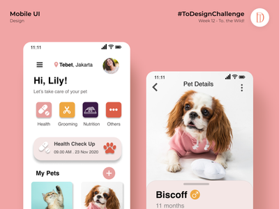 #ToDesignChallenge - Week 12 (To The Wild!) userinterface mobileapp designchallenge uiinspiration uidesign ux ui uiux