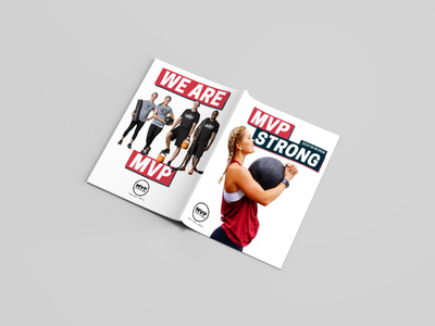 MVP Strong: 2019 In Review layout design magazine design editorial design