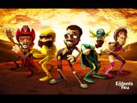 Characters for Les Enfants du Feu New Poster