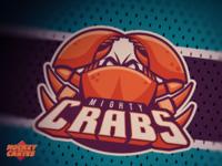 Seaworld Mighty Crabs Logo