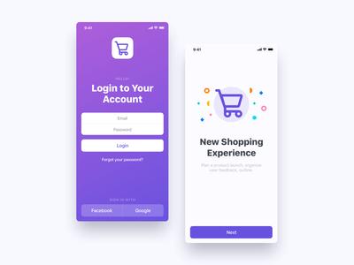 Mobile Screens UI