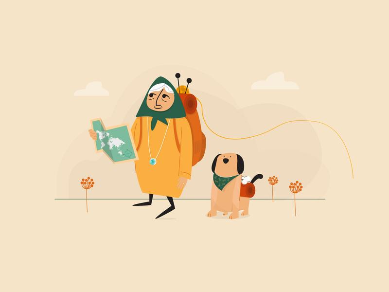 Grandma's Travel Plan