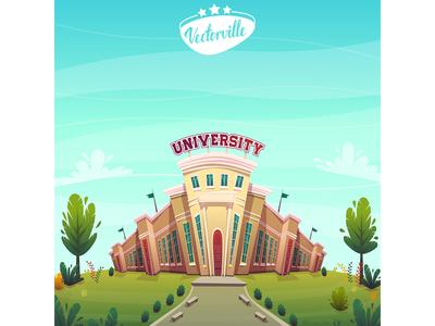 university campus student education