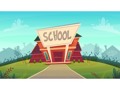 school illustration of knowledge day