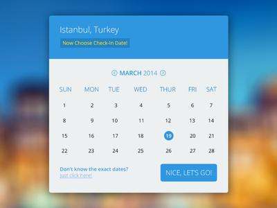 Calendar calendar navigation free psd freebie free business flat ui ux ui