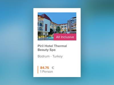 Hotelbox web design hotel travel flat ui ux