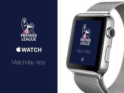 Apple Watch Premier League Matchday App apple watch premier league football mobile ui
