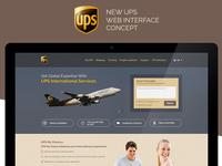 UPS Web Concept