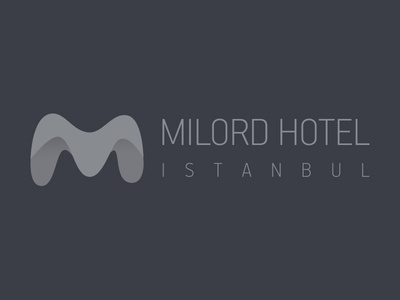 Milord Hotel Logo branding corporate identity travel hotel logo