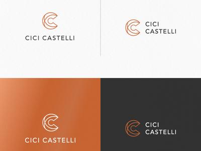C LOGO ui ux app icon minimal vector typography branding logo illustration design