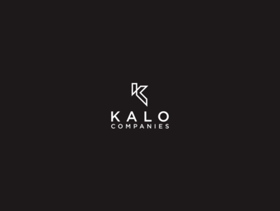 K LOGO ux app icon minimal vector typography branding logo illustration design