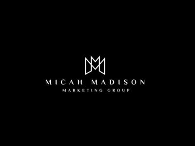 M LOGO app icon minimal vector typography branding logo illustration design