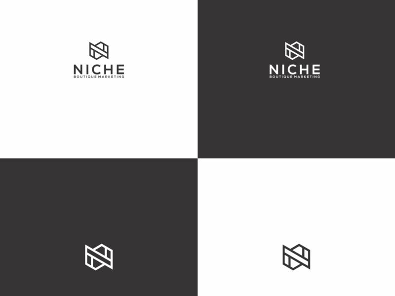 N LOGO ux app icon minimal vector typography branding logo illustration design