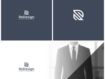 R LOGO ux app icon minimal vector typography branding logo illustration design