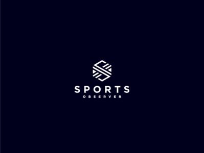 S LOGO ux app icon minimal flat vector typography branding logo illustration design