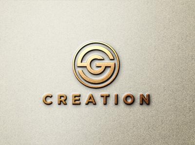 SG LOGO app icon minimal vector typography branding logo illustration design
