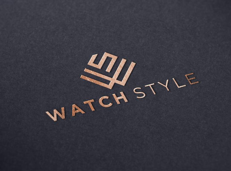 WS LOGO app icon minimal vector typography branding logo illustration design