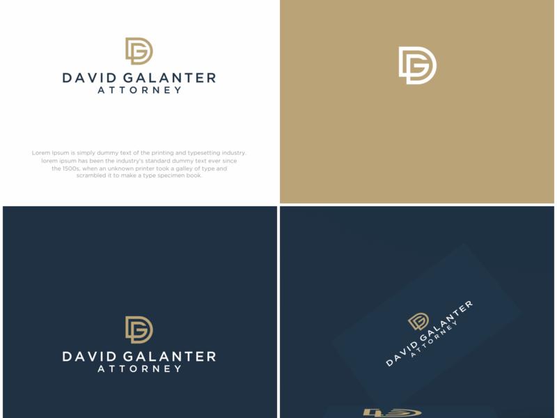 DG LOGO icon typography minimal illustration branding logo design