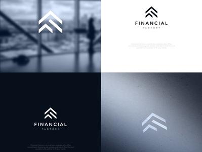 F LOGO typography minimal illustration branding logo design