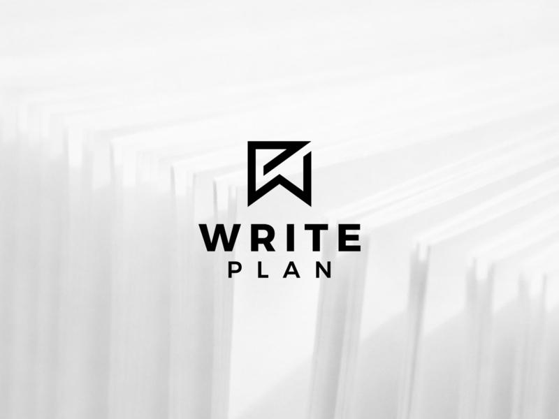 WP LOGO icon typography minimal illustration branding logo design