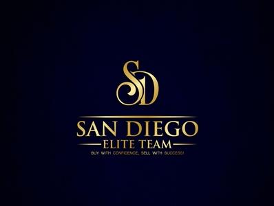 SD LOGO typography minimal illustration branding logo design