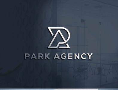 PA LOGO icon typography minimal illustration branding logo design
