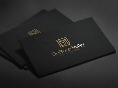 DM LOGO icon typography minimal illustration branding logo design