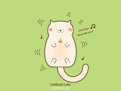 Cat Art Laidback Luke Cat relax chill creative funny producer dj music lover lovely cat cat t shirt illustration art happy positive cute art cat comics cat art