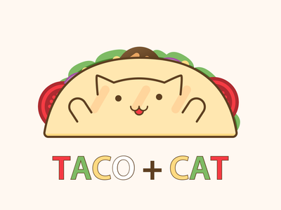 Tacocat creative lovely positive happy cute illustrations cute illustration illustration cute art kawaii art cute kawaii cat food tacos taco