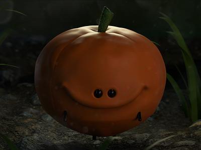 Calabacita render arnold render halloween pumpkin arnoldrender arnold 3d 3d art maxonc4d c4d cinema4d zbrush pixlogic zbrush