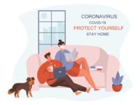 During Coronavirus Stay Home