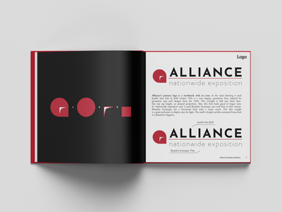 Alliance Brand Book & Identity Guidelines mockup design creative design corporate identity design logodesign logo corporate identity design corporate design corporate branding branding