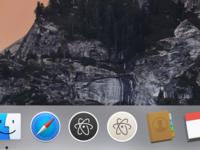 Atom icons for Yosemite apple icons yosemite mac os dock icns download atom app
